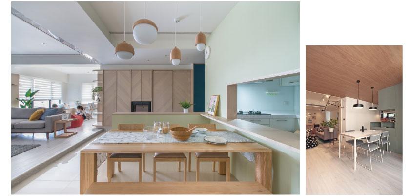簡約風客廳案例-大地木質調性的靈感