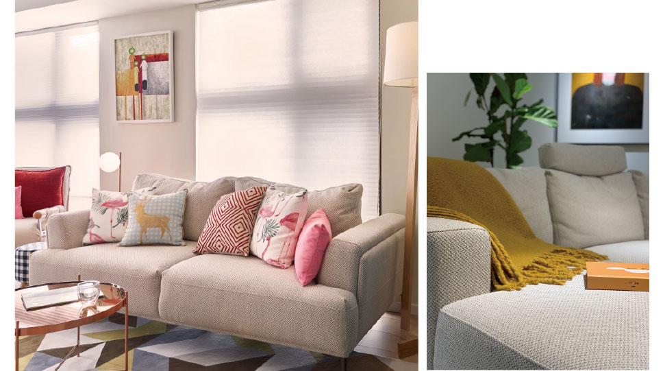 簡約風客廳案例-純色單品的點綴